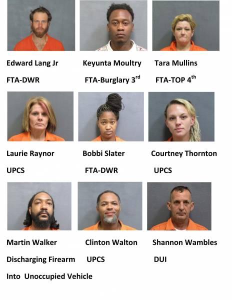 Houston County Weekend Mugshots 7/16/2021-7/18/2021