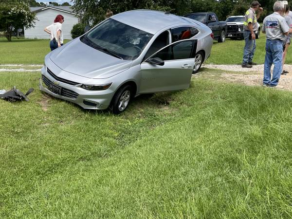 1:58 PM.    Single Vehicle Accident On Webb Road In Webb