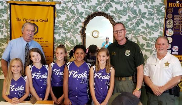 Jackson County : Dixie Angels All-Sale Team go to the World Series in Moncks Corner, South Caralina