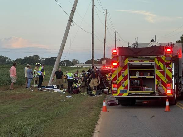 8:47 PM.   Motor Vehicle Accident - Trauma Alert - Redmond Road