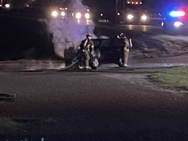 9:22 PM   Car Fire On Ross Clark Circle