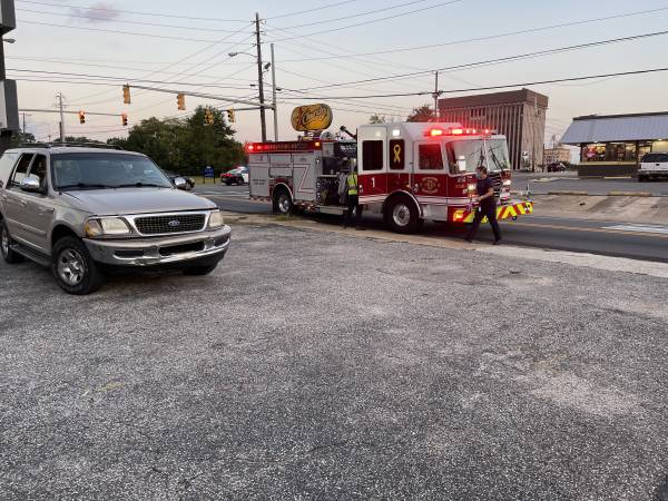 6:54 PM    Motor Vehicle Accident Powell and Oates Street