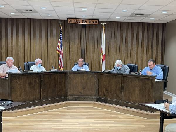 BUDGET WORK SESSION - Dale County Commissioners - SLAMS Houston County On Striping Partnership