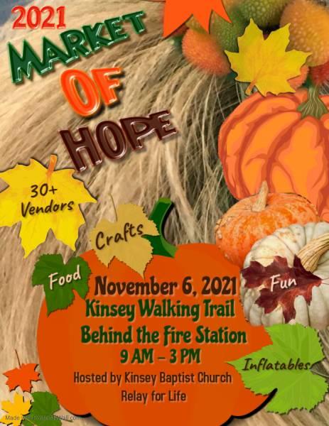 2021 market of Hope Kinsey Walking Trail