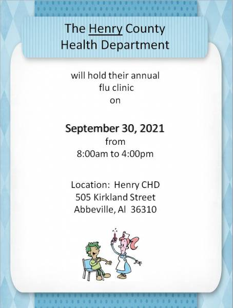 Henry County Health Department Flu Clinic