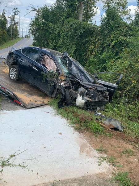 Marianna Police Responded to a Vehicle Crash Involved Stolen Vehicle
