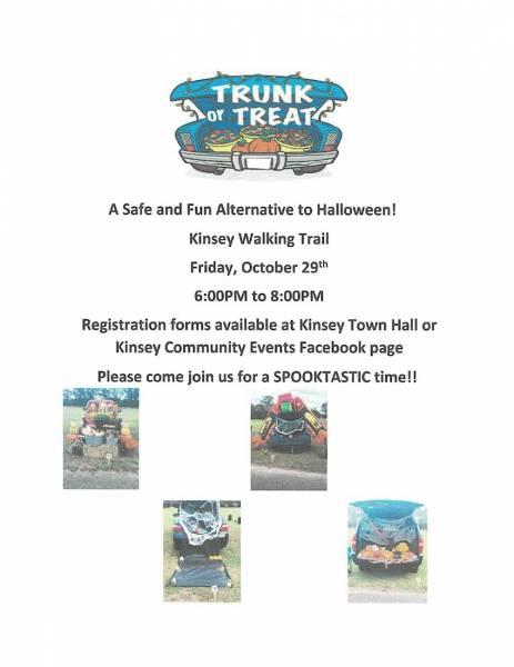 Trunk or Treat in Kinsey