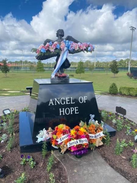 Remembering Derrick Morris At The Angel Of Hope