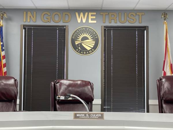 399 Days Left On Houston County Commission Chairman Mark Culver Tenure