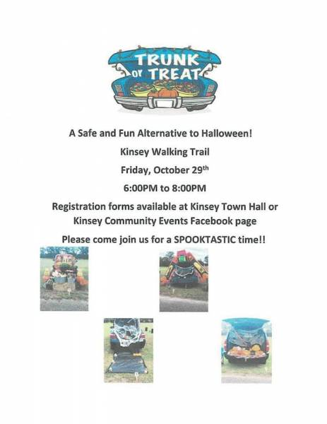 Kinsey 2 nd Annual Trunk or Treat