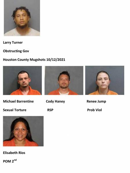 Dothan City/Houston County Mugshots 10/12/2021