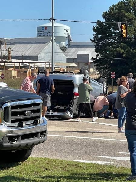 11:16 AM. Motor Vehicle Accident In WICKSBURG