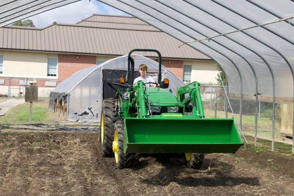 WEC, Wiregrass RC&D fund purchase of tractor for Cottonwood FFA